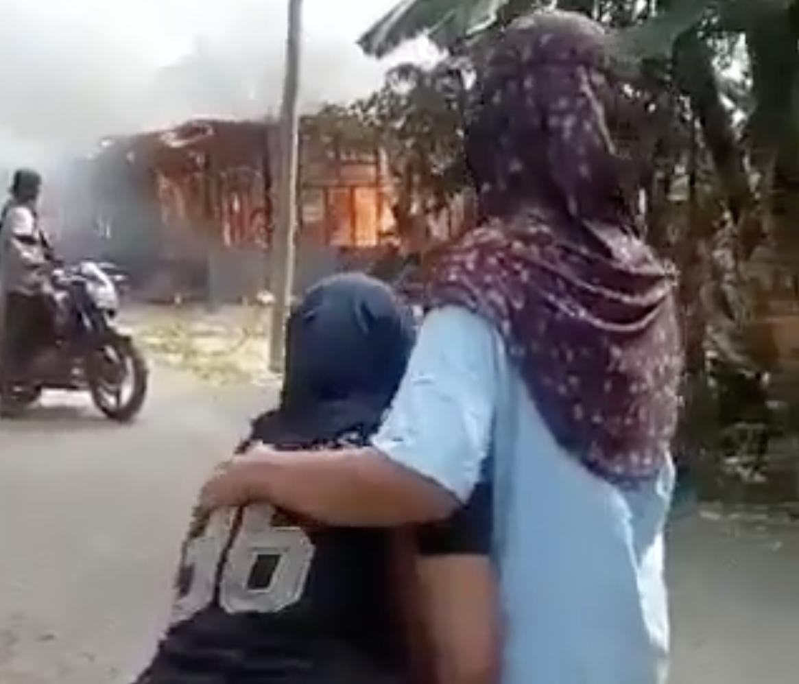 si anak dikatakan berjumpa dengan ibunya untuk